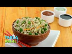 Vegetable Fried Rice - Video Recipe by Bhavna - YouTube