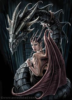 'controller' by anne stokes