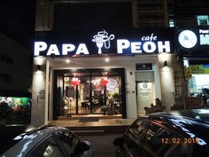! A Growing Teenager Diary Malaysia !: PapaPeoh Cafe Restaurant Shah Alam @ Best Fried Ch...