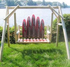 water skis | HO Water Ski Swing with Cradle | Flickr - Photo Sharing!