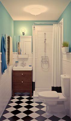 В этом проекте дизайнеру Татьяне Пичугиной удалось совместить две современные тенденции– наполнять свое жилье недорогой, доступной мебелью и не стесняться ярких красок.