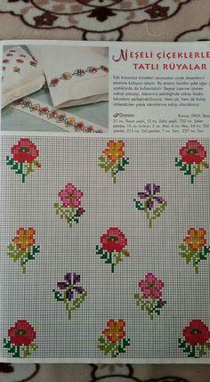 Mini Cross Stitch, Cross Stitch Flowers, Blackwork Embroidery, Stitch 2, Counted Cross Stitch Patterns, Needle And Thread, Perler Beads, Cross Stitching, Needlepoint