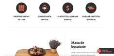Un website care te vrajeste cu fiecare click. VreaudinLemn este un magazin online cu cele mai creative si mai elegante piese de mobilier din lemn. Web Design Projects, Mai, Website
