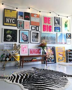 bold colorful teen hang out, teen girl room decor with light wall art, gallery . - home decoration bold colorful teen hang out, teen girl room decor with light wall art, gallery … – Bonus Room Design, Design Room, Interior Design, Diy Design, Color Interior, Design Ideas, Decor Room, Bedroom Decor, Home Decor
