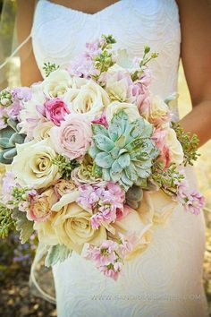 Wedding bouquet flowers Summer zomers bloemen boeket