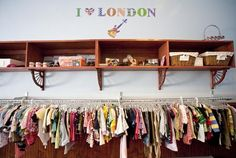 Kids second hand store.  Designer clothes 718A Manhattan Ave between Meserole and Norman Aves, Greenpoint, Brooklyn