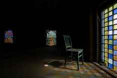 Attic of administrative wing in abandoned South Carolina State Hospital