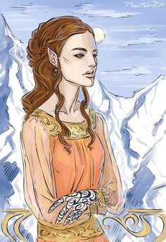 Feyre by PhantomRin. ACOMAF. A Court of Mist and Fury. Sarah J. Maas.