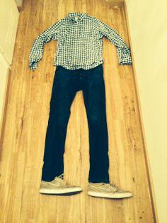 Einer meiner Lieblingsoutfits, Karo Hemd mit meinen Nike Schuhen. Einfach genial!