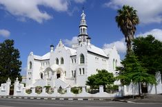 Ian White (Flickr) Place Of Worship, Notre Dame, South Africa, Mansions, Architecture, House Styles, Building, Places, Towers