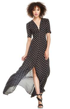 Love this polka dot dress!
