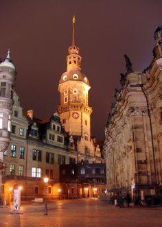 Royal palace tower, Dresden