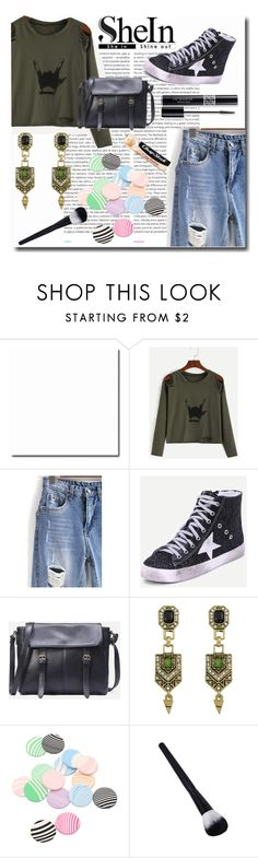 """Shein-Rocker Style"" by emmy-124fashions ❤ liked on Polyvore featuring Oris, Christian Dior, Chapstick and shein"