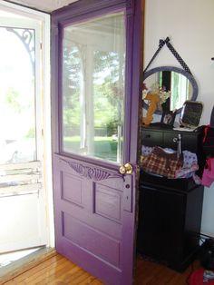 purple front door - Google Search