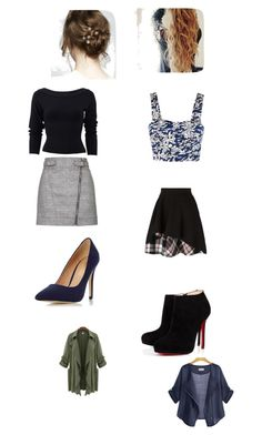"""""""Untitled #92"""" by geor6900 on Polyvore featuring Christian Louboutin, Alexander McQueen, Dorothy Perkins, Elle Sasson, Topshop and Donna Karan"""