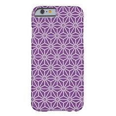 Japanese Herb leaves Pattern ayame iPhone 6 Case