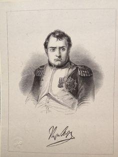 NAPOLEON engraving  (1860's)