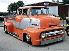1956 Ford COE Custom Mega Pick Up Truck