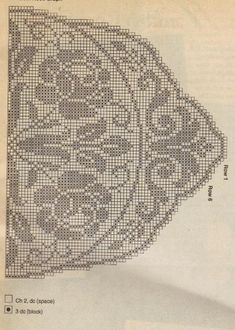 Free Crochet Random Rose Doily Pattern