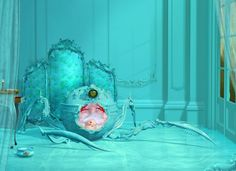 If It's Hip, It's Here: The Desirably Disturbing Digital Art of Ray Caesar. A Look at over 30 of his Works.