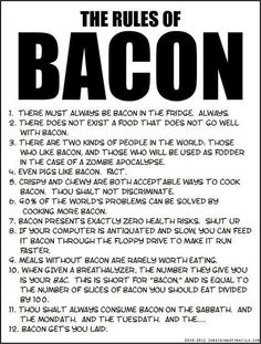 #bacon #humor