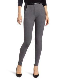 Robbi & Nikki Women's Blocked Ponte Legging Robbi & Nikki. $87.75. Trim detail. 67% Rayon/28% Nylon/5% Spandex. Dry Clean Only. Front pockets. Made in China