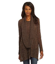IC Collection Honeycomb Cowl #Dillards