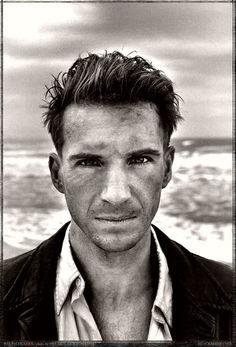 Ralph Fiennes by Helmut Newton, 1995