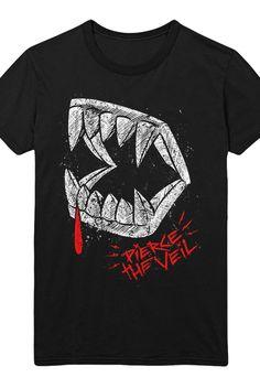 a2f3b4ca Pierce The Veil | Merch Store - Teeth Tee (Black) Band Shirts, Band