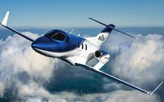 The Hondajet is billed as the most advanced aircraft in its small jet category. The business jet will carry six people more than 1,500 miles, and sports a touch-based avionics system and efficient wing-mounted engines.