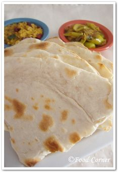 Food Corner: Indian Roti Recipe with All Purpose Flour (Indian Flat Bread)