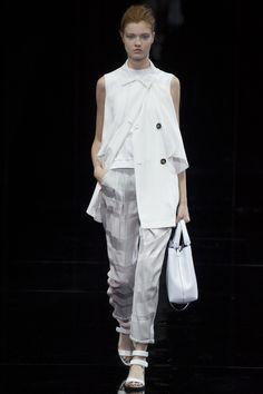 Emporio Armani printemps-été 2015 #mode #fashion