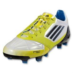 221d3e91d adidas F50 adizero TRX FG Soccer Shoe (Leather)  V21433  Running White