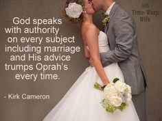 Kirk Cameron quote.