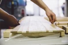 The Process: Crafting a Custom Wooden Snowboard from Scratch