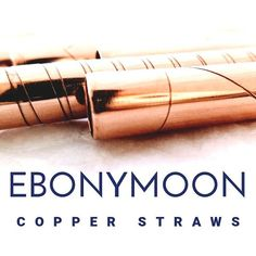 With all the plastic straws in the ocean we want to give you an alternative straw that is environmentally friendly safe to use and truly beautiful. Copper And Brass, Straws, Simple Living, Alternative, Ocean, Plastic, Beautiful, Instagram, Design