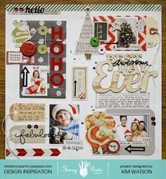 kim watson ★ paper crafts ★ designs: Christmas came early Fancy Pants Designs.