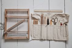 junkaholique: portable weaving frame