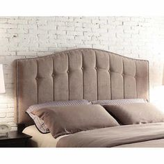 Sonoma Beige Headboard Available in: King, Queen and Double Beige Headboard, Queen Headboard, Metal Trim, Bed Sizes, Bed Frame, Bedroom Furniture, Love Seat, Upholstery, Couch