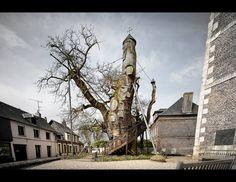 France's Incredible Oak Chapel