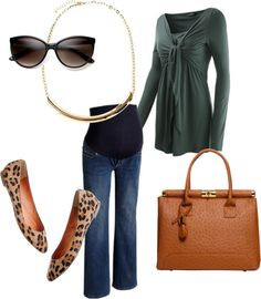 """Work II"" by pregnantchicken on Polyvore #Maternity"