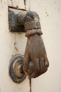 Country French Antique Door Knocker   Love It!