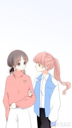 Anime Cupples, Anime Comics, Kawaii Anime, Anime Guys, Games For Girls, Guys And Girls, Friend Anime, Anime Muslim, Cool Anime Girl