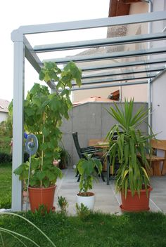 Terrassenüberdachung Alu Glas