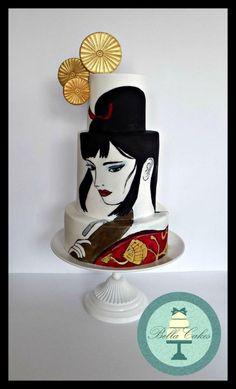 Lady Eboshi - Spirited Away by Bella Cakes