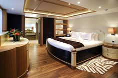 The All Inclusive Luxury Motor Yacht Charter Dream Bedroom, Master Bedroom, Cozy Bedroom, Luxury Yacht Interior, Diy Home, Home Decor, Interior And Exterior, Interior Design, Interior Decorating
