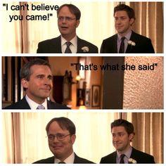 SOB!!!! I love you Michael Scott