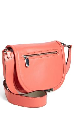 Love the pretty rose blush color of this Marc Jacobs bag.