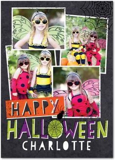 Creepy Collage - Halloween Cards from Treat.com #trickorTREAT
