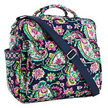 This might be a good option! But I want to try the other one first....Convertible Baby Bag in PETAL PAISLEY | Vera Bradley